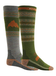 BURTON PERFROMANCE LIGHTWEIGHT 2 PACK SNOW SOCK
