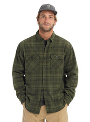BURTON BRIGHTON TECH FLANNEL