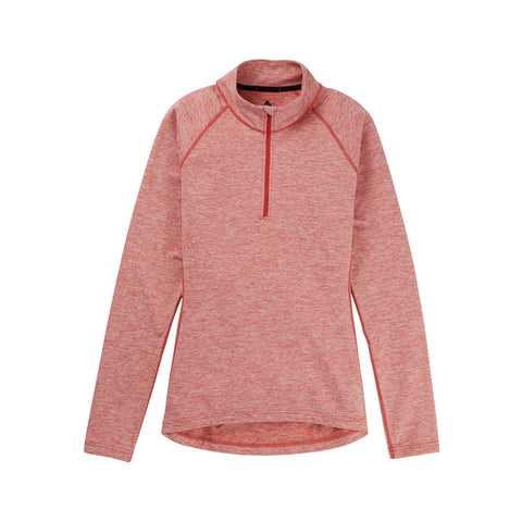 BURTON HEAVY WEIGHT X 1/4 ZIP 2021 WOMENS SNOW THERMAL TOP