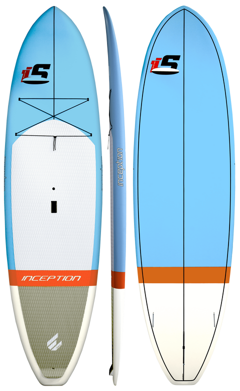 INCEPTION PAINTED STAND UP PADDLE BOARD PACKAGE