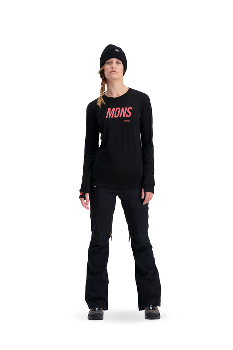 MONS ROYALE YOTEI BF 2019 WOMENS LONG SLEEVE