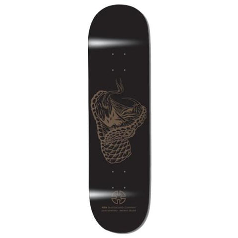 XEN AUSSIE SERIES BROWN SNAKE SKATEBOARD DECK