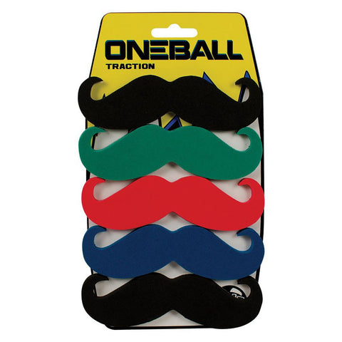ONE BALL MUSTACHE 5PK STOMP PAD