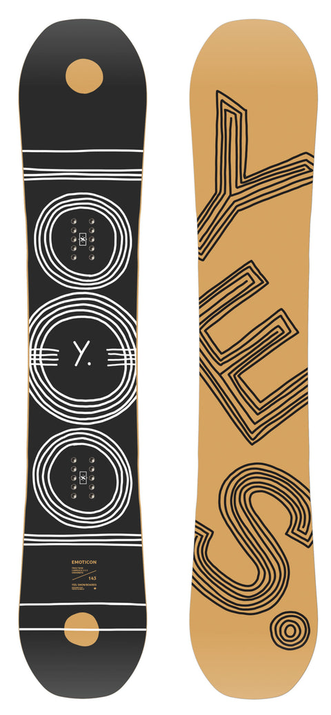 YES EMOTICON 2021 WOMENS SNOWBOARD