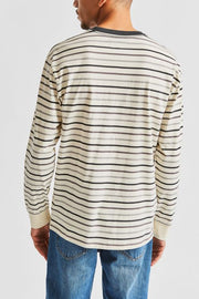 BRIXTON HILT LONG SLEEVE POCKET TEE