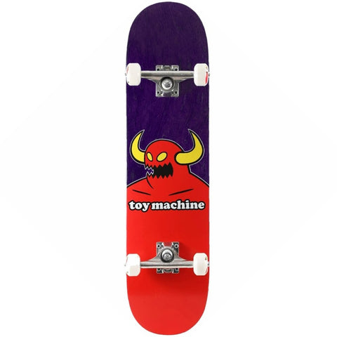 TOY MACHINE MONSTER SKATEBOARD COMPLETE