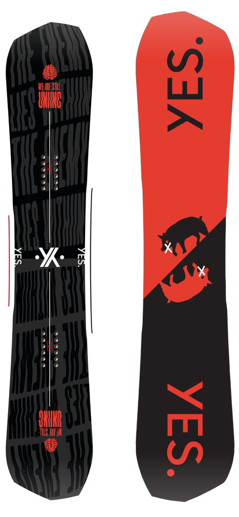 YES GREATS 2021 SNOWBOARD