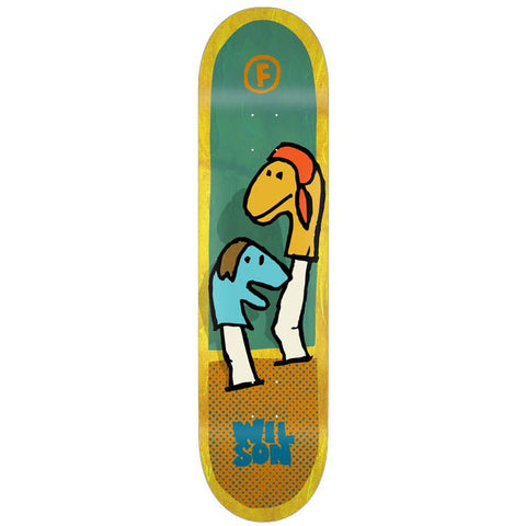 FOUNDATION WILSON PUPPETS SKATEBOARD DECK