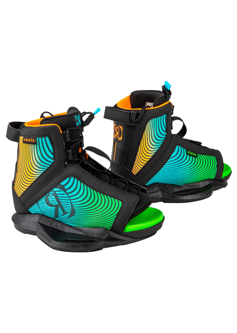 RONIX VAULT 128 2020 YOUTH WAKEBOARD WITH VISION BOOT