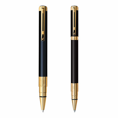 Waterman Perspective Pens with Gold Trim - Free Personalization