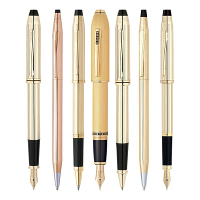 Personalized Gold Pens - Genuine Gold Pens with Free Gift Engraving