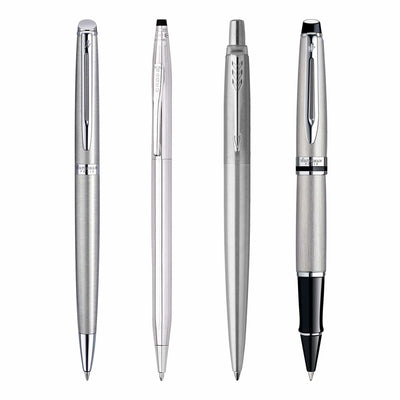 Premium Pens with Steel Finish - Personalize with Free Engraving