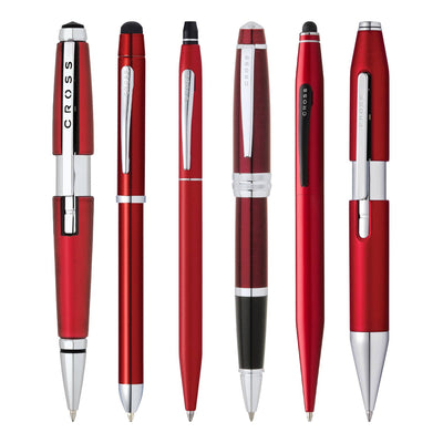 Premium Red Pens - Free Engraving on all Luxury Red Pens