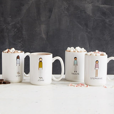 Personalized mugs from Uncommon Goods