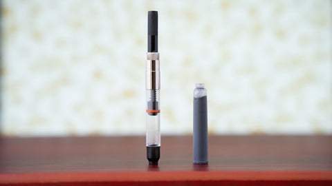 Fountain pen converter and ink cartridge
