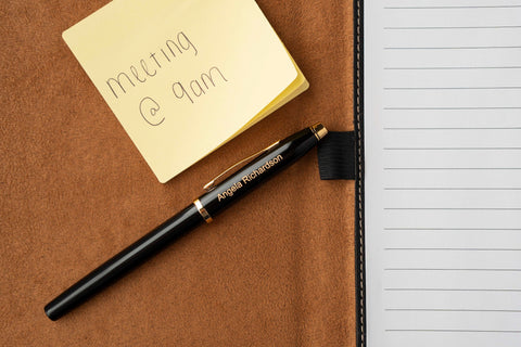 Cross Century II Rollerball black lacquer and gold pen