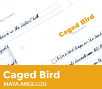 Caged Bird by Maya Angelou