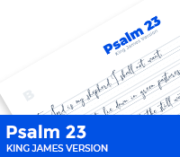 Psalm 23 King James Version
