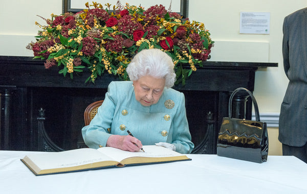 Queen Elizabeth II at Chatham House