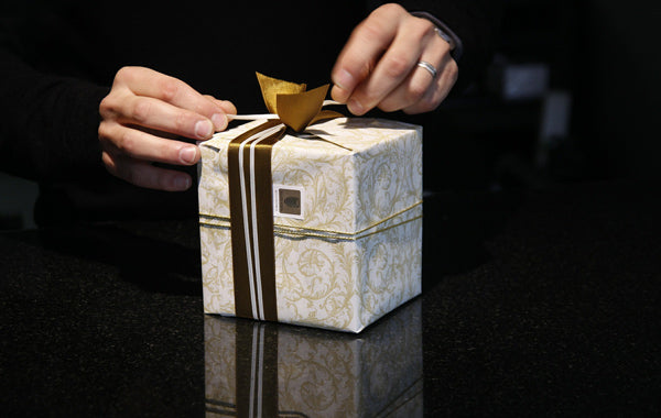 Person gift packaging
