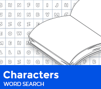 Characters Word Search