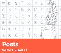 Poets Word Search
