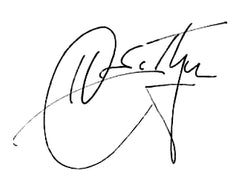 Hunter S Thompson Signature