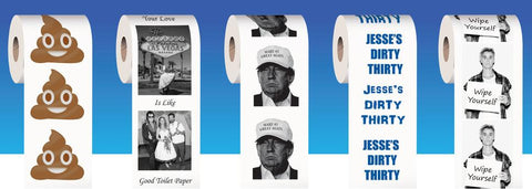 personalized gift Unique Printed Toilet Paper from PrintedTP