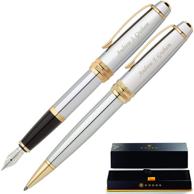 Cross Bailey Medalist Fountain & Ballpoint Set GP-1171 | AT0452-6, AT0456-6MS