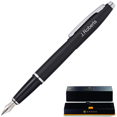 Cross Calais Fountain Pen - Black GP-1241 | AT0116-14