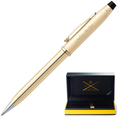 Cross Century II 10 Karat Rolled Gold Ballpoint Pen GP-128 | 4502WG