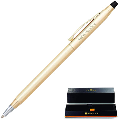 Cross Classic Century 10 Karat Gold Rolled Ballpoint Pen GP-154 | 4502