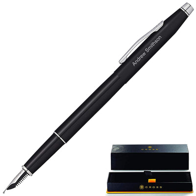 Cross Classic Century Black Lacquer Fountain Pen GP-1004 | AT0086-111FS