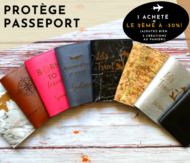 protege passeport personnalisable made in france