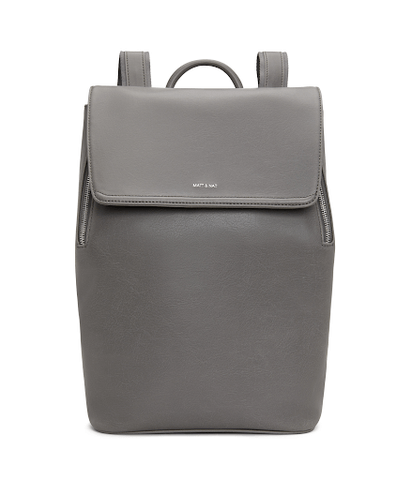 grey chic backpack