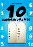 10 Commandments 12-Week Children's Ministry Curriculum