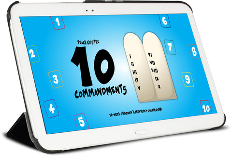 10 Commandments Children's Ministry Curriculum