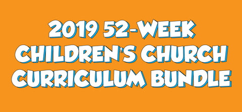 52-Week Children's Ministry Curriculum Bundle