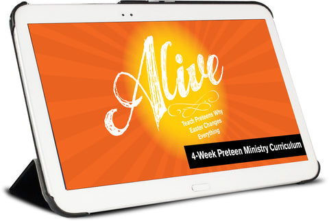 Alive Easter Children's Ministry Curriculum