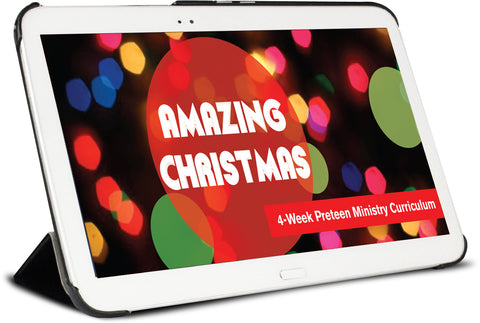 Amazing Christmas Preteen Ministry Lesson