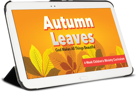 Autumn Leaves Children's Ministry Curriculum