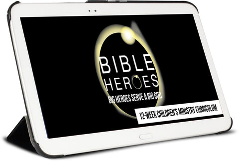 Bible Heroes Children's Ministry Curriculum