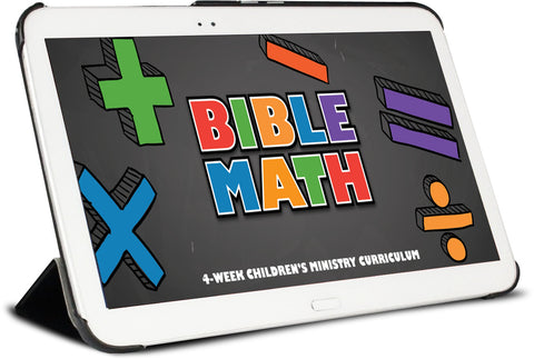 Bible Math Children's Ministry Curriculum
