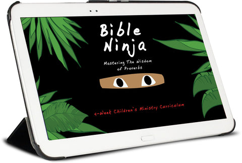Bible Ninja Children's Ministry Curriculum