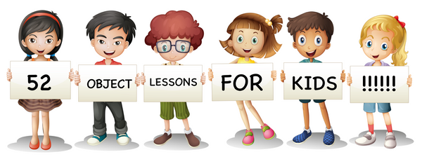 image about Free Printable Sunday School Lessons for Youth named 52 Bible Item Classes for Small children Childrens Ministry Offers