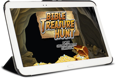 Bible Treasure Hunt Children's Ministry Curriculum