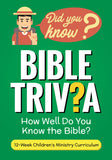 Bible Trivia 12-Week Curriculum