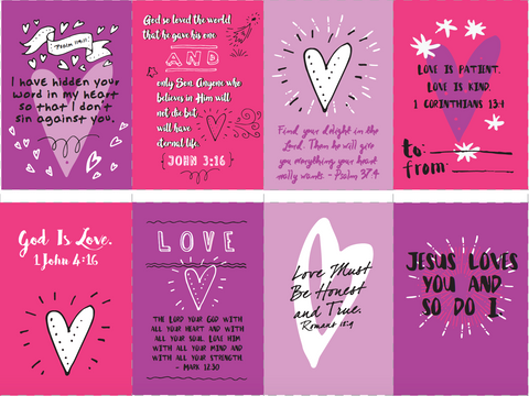 valentines bible verse cards free children s ministry deals