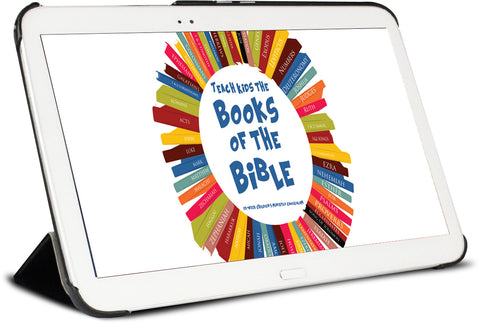 Books of the Bible Children's Ministry Lesson