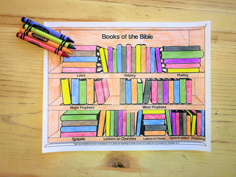 Books Of The Bible Preschool Ministry Curriculum